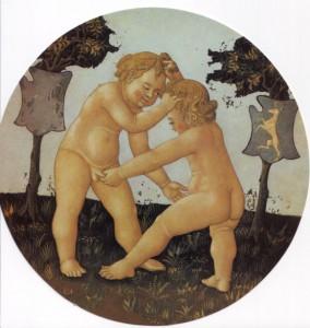 Lo Scheggia, birth tray, Palazzo Davanzati collection, Florence