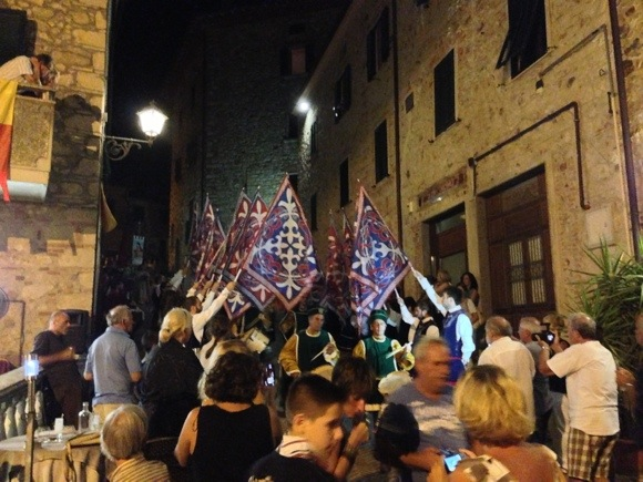 Historical procession in Gavorrano