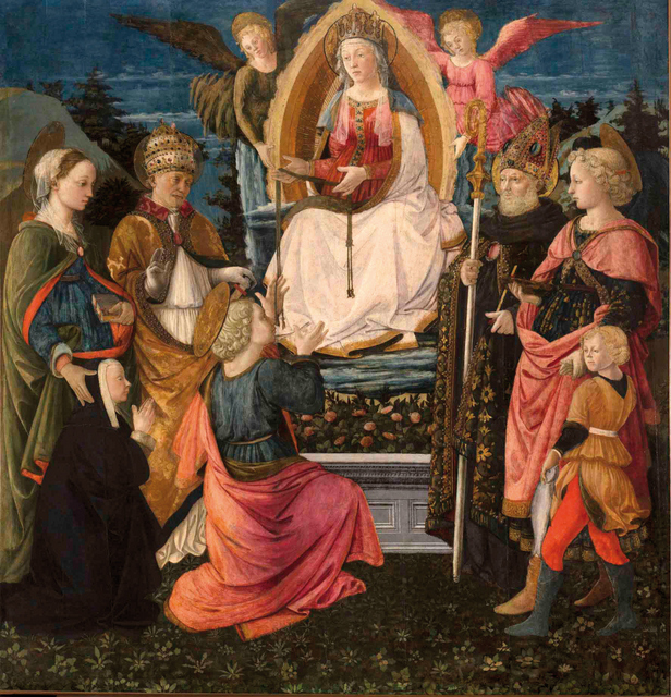 Filippo Lippi, altarpiece for the Duomo of Prato