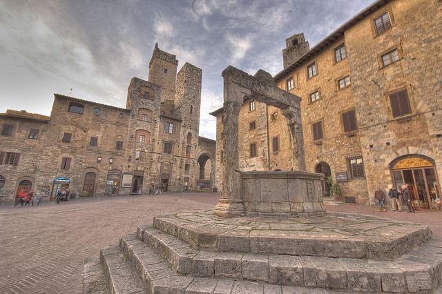 San Gimignano - photo flickr @7bart