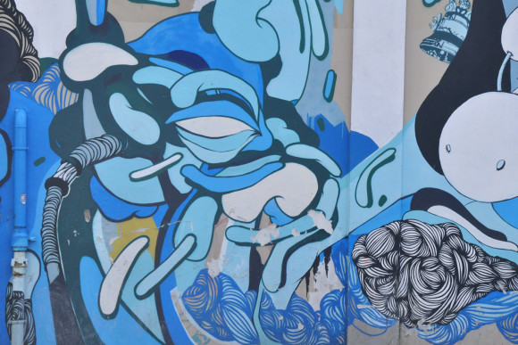 street-art-milan-blue