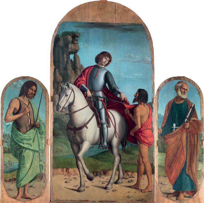 Cima da Conegliano, Navolé Triptych