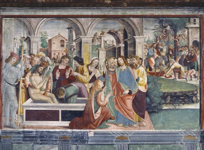 Francesco da Milano, fresco in the Scuola dei Battuti / photo ©Elio Ciol_courtesy Rotary Club