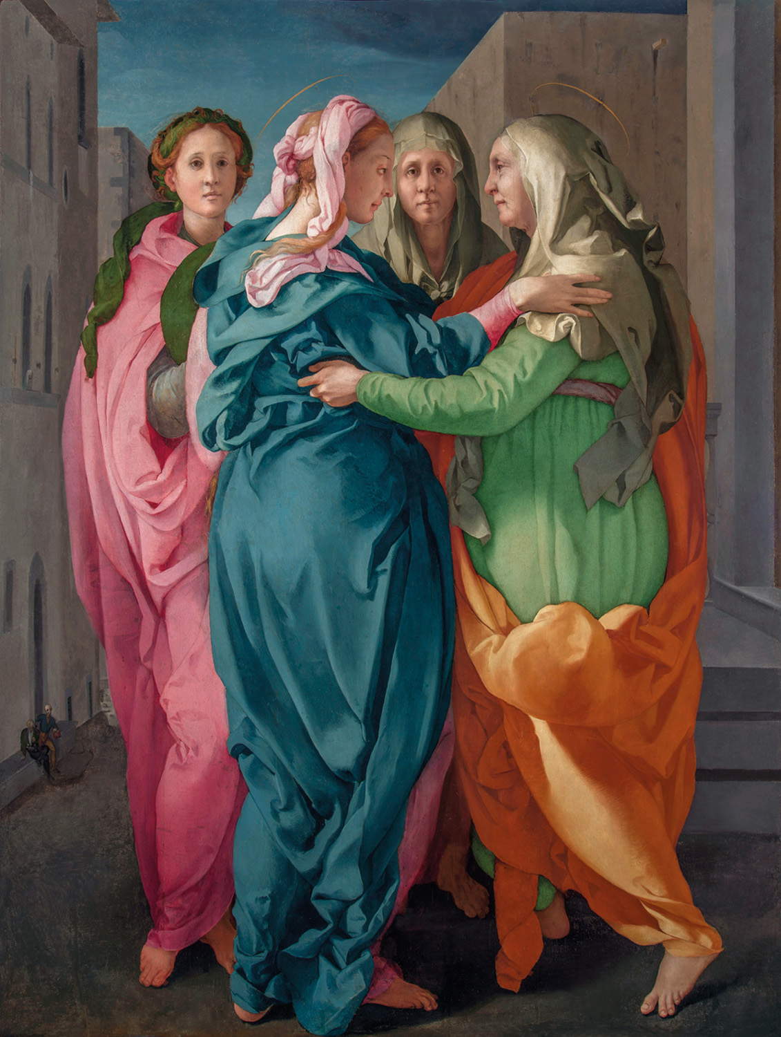 Image result for Carmignano to see S. Michaele Pontormo Visitation