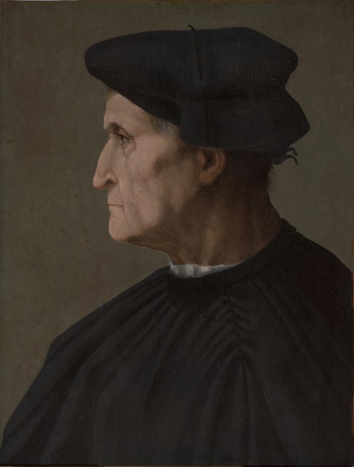 Rosso Fiorentino, portrait of a man (Pitti)