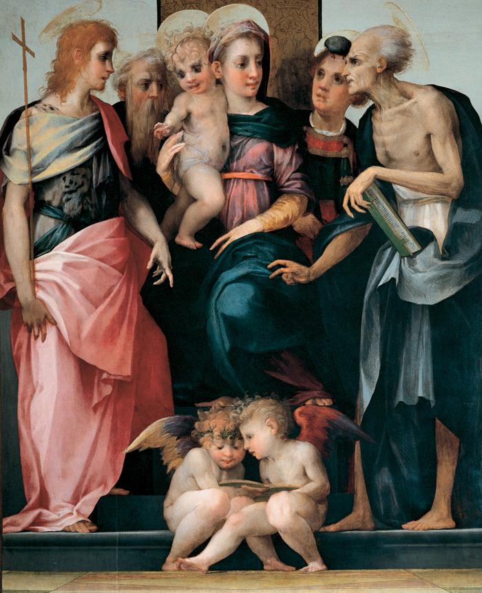 Rosso Fiorentino, Spedalingo Altarpiece (Uffizi)