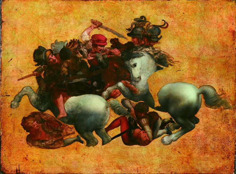 Tavola Doria by anon Florentine painter. Donation to Uffizi from Tokyo Fuji Museum.