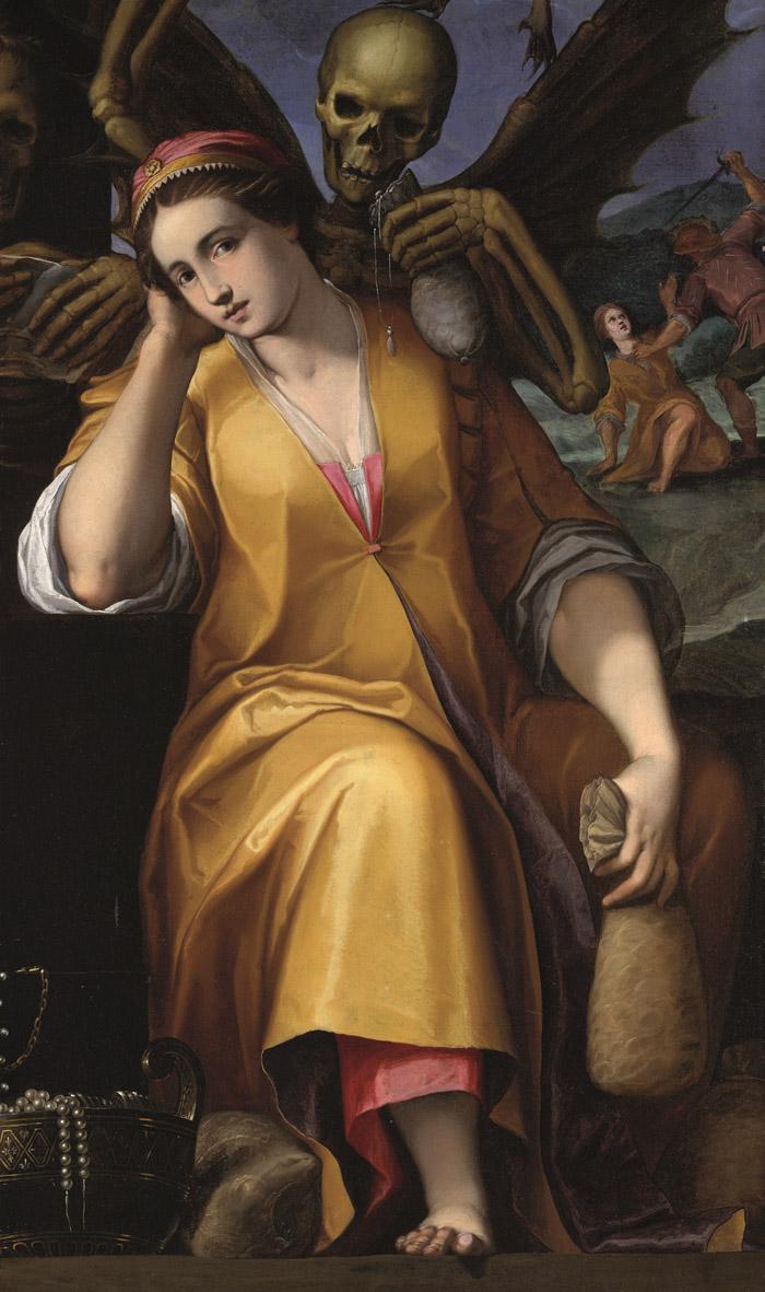 Allegory of Avarice, 1590