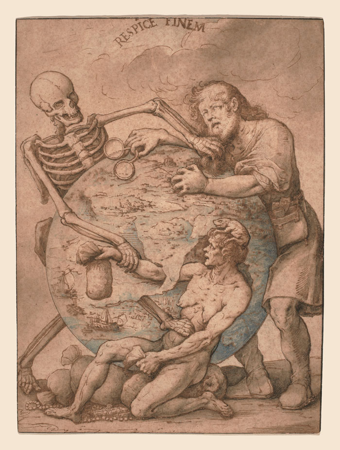 Allegory of death (Respice finem)