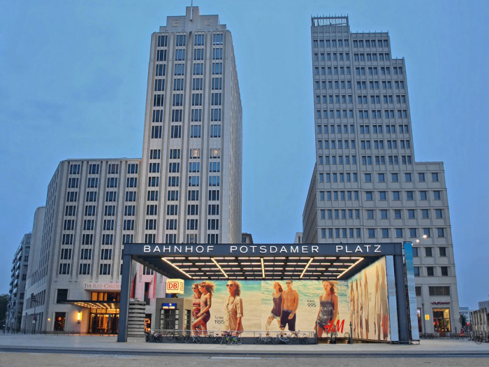 Potsdamer Platz | Photo Flickr user @Mr172