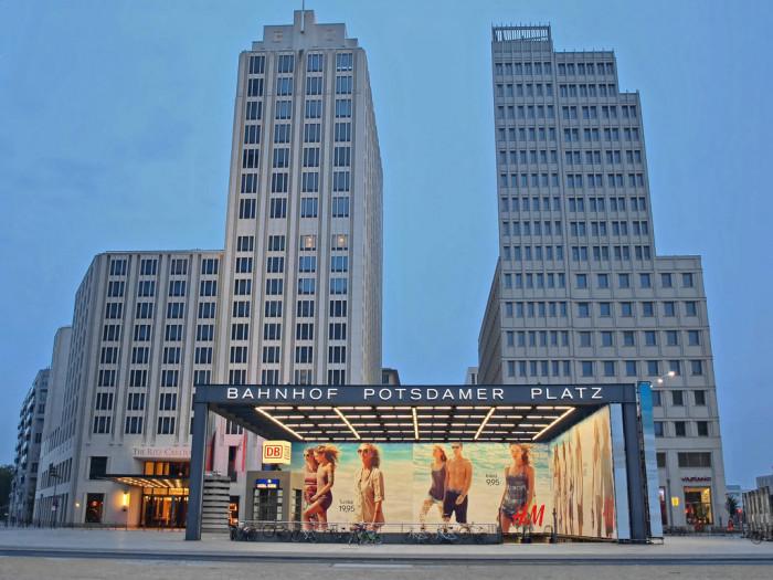 Potsdamer Platz | Photo Flickr user @Mr172