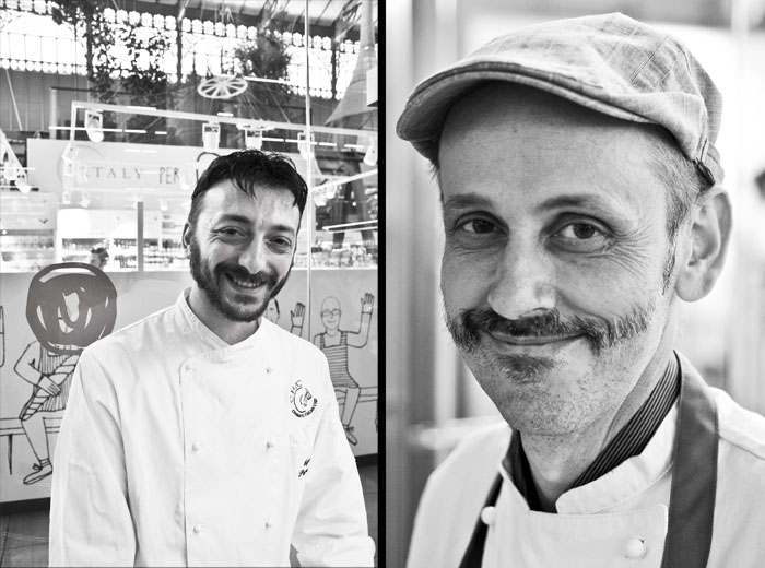 Professional chefs / Photo Marco Badiani