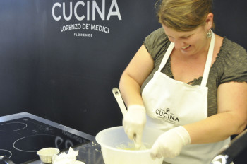 Amy Gulick, my baking partner