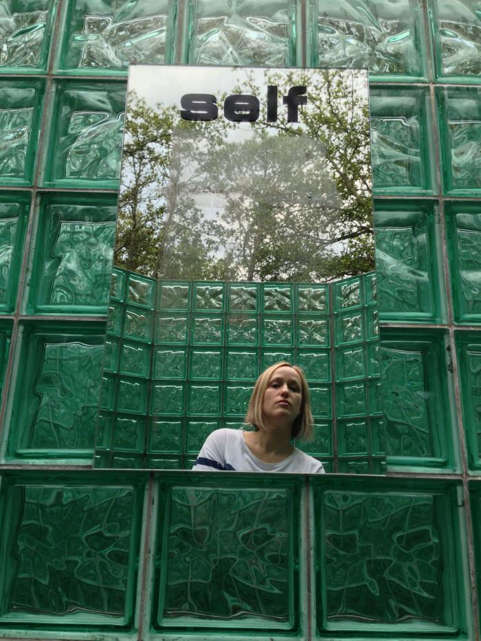 Selfie in maze