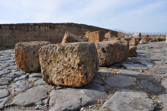 Roman road at Vulci