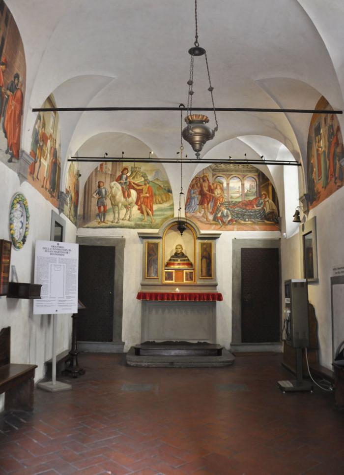 Oratory interior