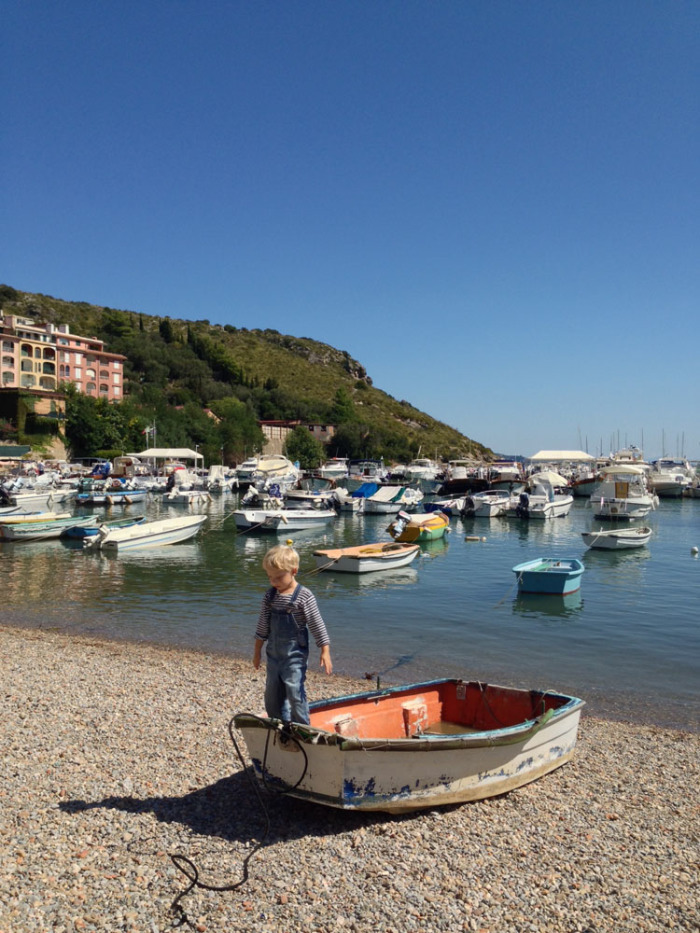 Porto Ercole's harbour