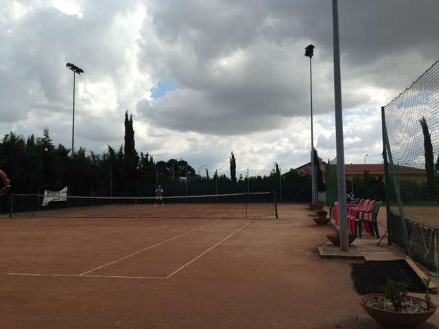 Tennis at Circolo Lello, Grosseto
