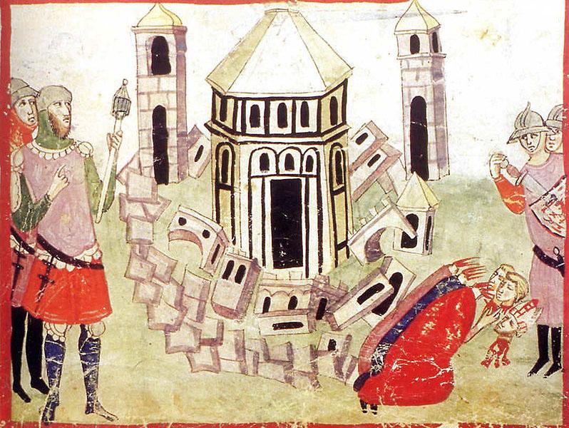 Giovanni Villani, Chronicle. ms. Chigiano L VIII 296 della Biblioteca Vaticana, f.36r (1.III,1)