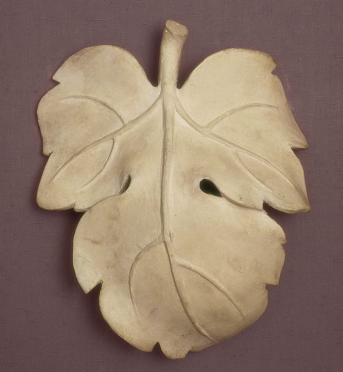 Fig Leaf used to cover a copy of the David. V&A, London.