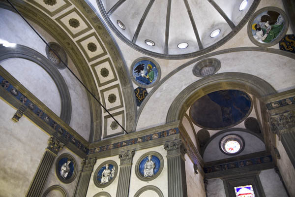 Pazzi Chapel interior