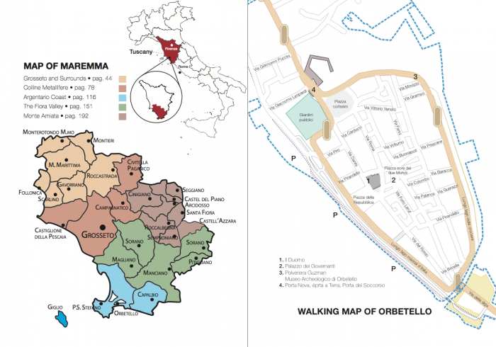 Maremma map - it's a big place.