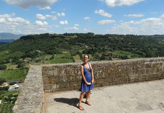 Elisa in Sorano