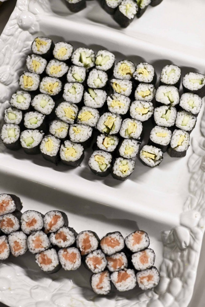There was even sushi.
