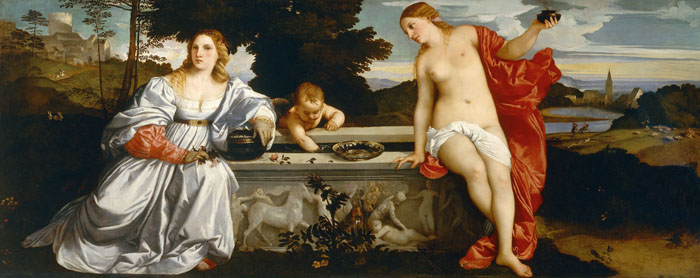 Titian, Sacred and Profane Love