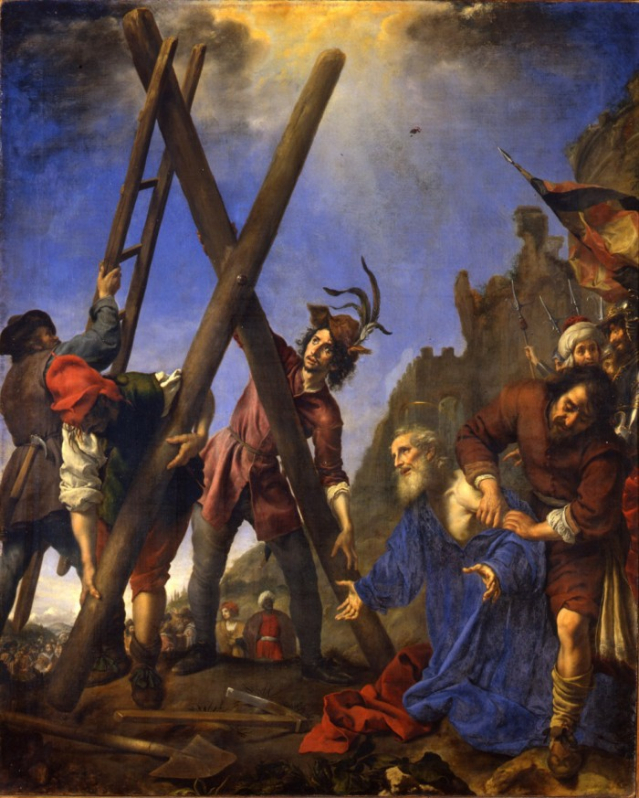 Carlo Dolci, The Martyrdom of St. Andrew, 1646, Florence, Galleria Palatina