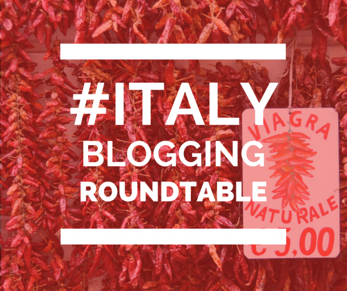 Italy blogging roundtable is back!