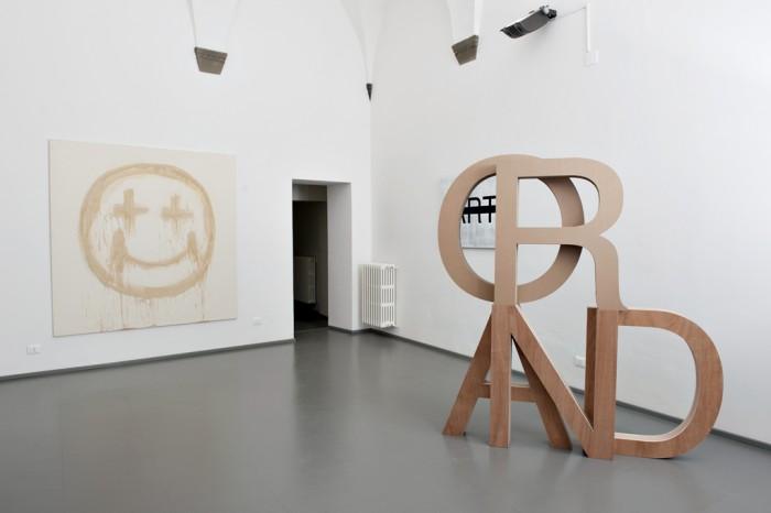 Be Andre, ROAD, 2014, wood,cardboard, 200 cm x 220 cm