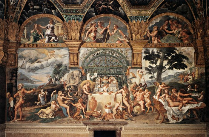 Giulio Romano, Wedding of Cupid and Psyche
