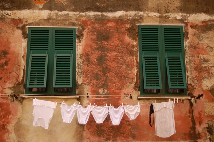 Laundry by Flickr user @Katri