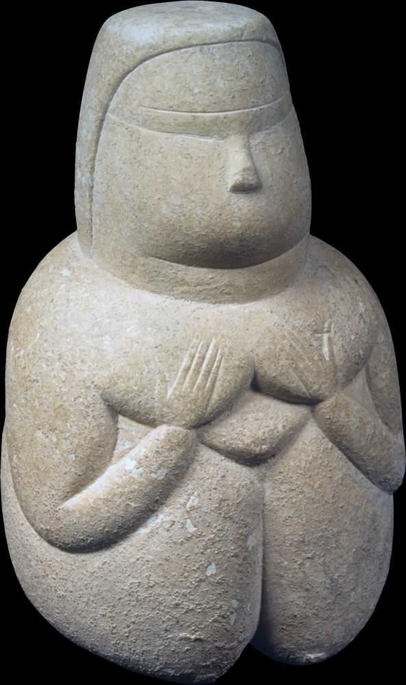 Dea Madre, IV millennio a.C., Museo Archeologico Nazionale di Cagliari