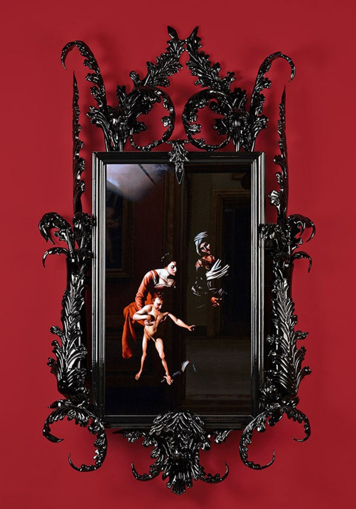 Mat Collishaw, Black Mirror - Leo Minor, 2014, courtesy the artist,1/9