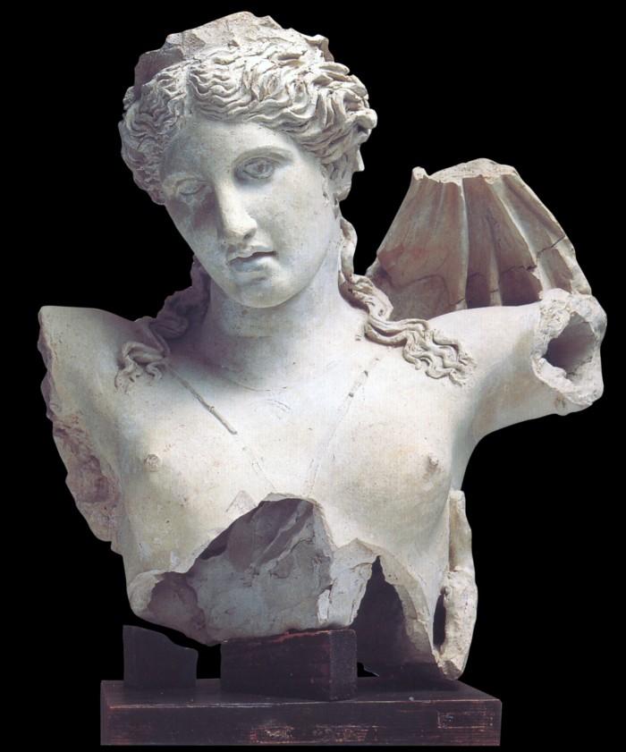 Busto di Proserpina, 160-150 a.C., Museo Civico Fiorelli, Lucera