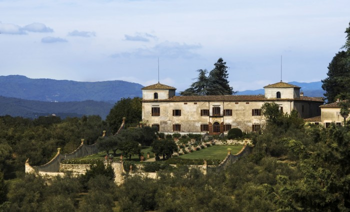 Villa Lilliano garden