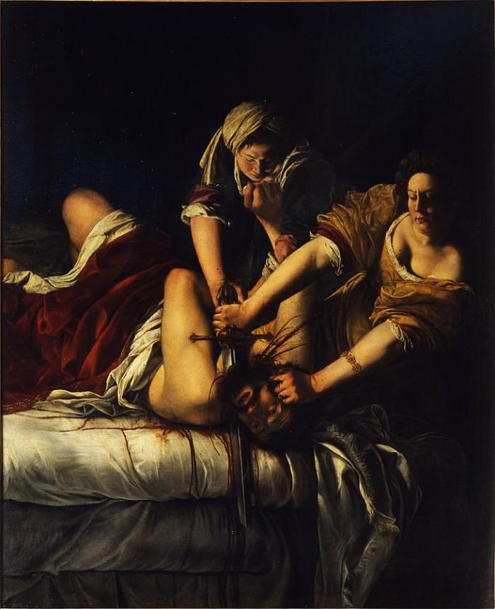 Judith and Holofernes (Uffizi)