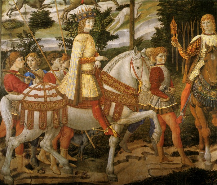 Benozzo Gozzoli, Procession of the Magi | Photo: Wikipedia