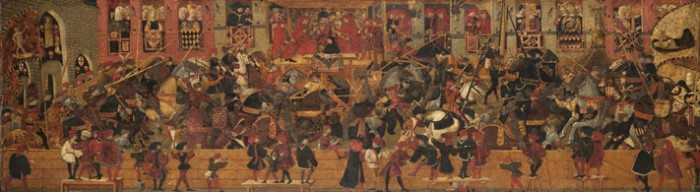 Joust in Piazza Santa Croce | Yale University Art Gallery