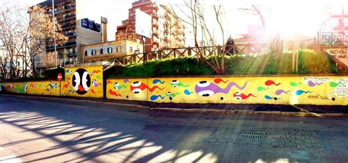 Diavù, Arte Feconda Quadraro | Photo Gazebike Associazione di Promozione Sociale