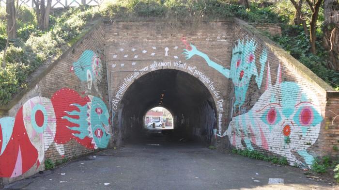 Gio Pistone, tunnel
