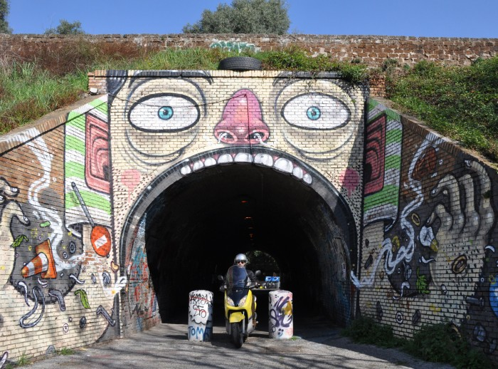 Mr. Thoms, tunnel exit