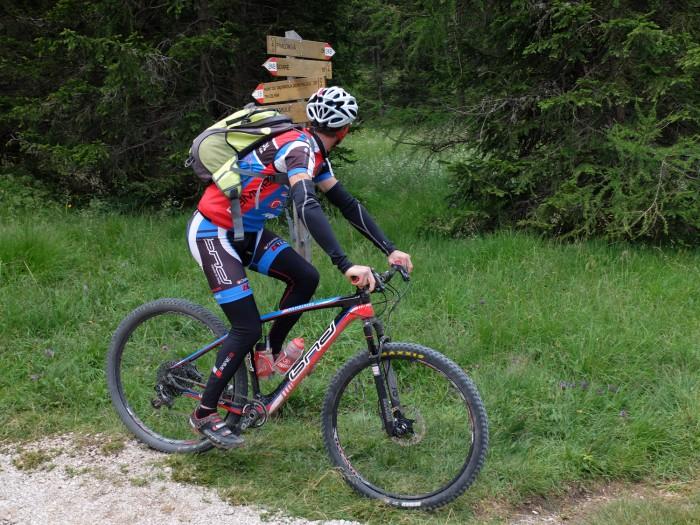 hundreds of km's of bike trails