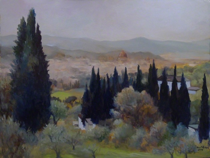 Tom Byrne, View from Settignano
