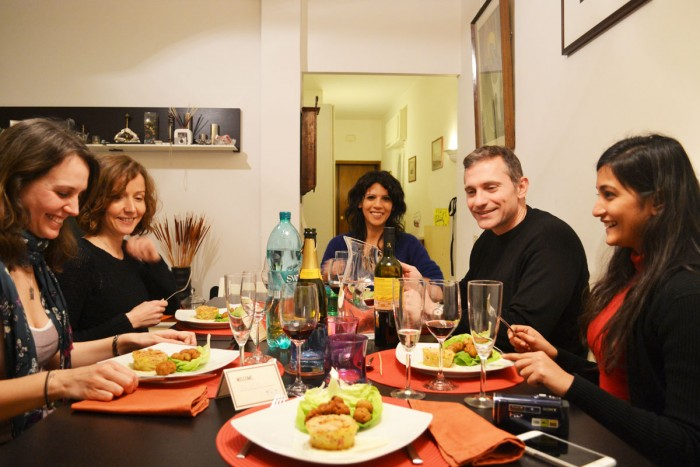A home cooked meal in Rome with BonAppetour