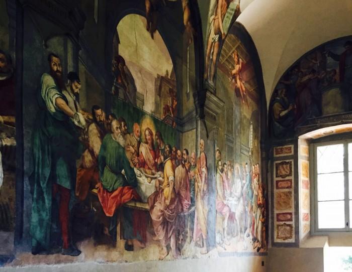 Poccetti Last Supper, Santo Spirito