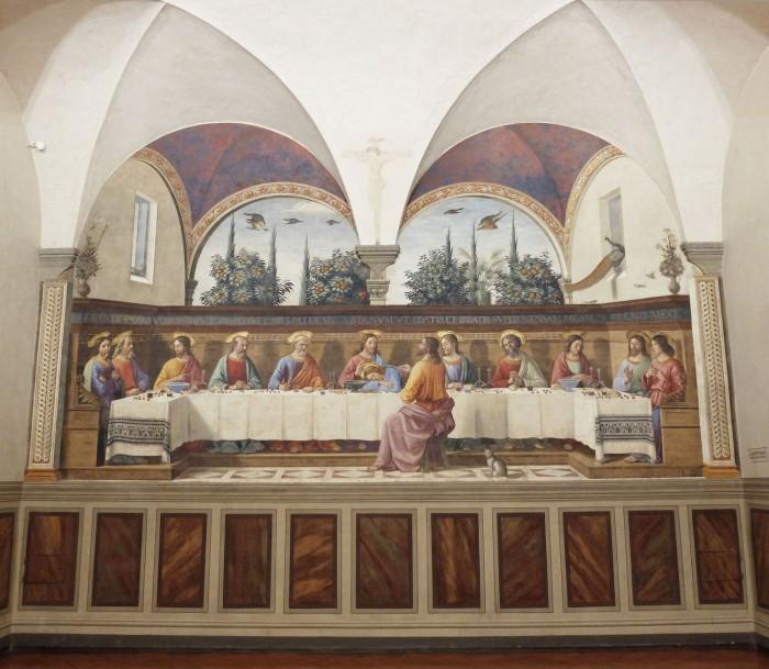 Ghirlandaio, Last Supper at San Marco