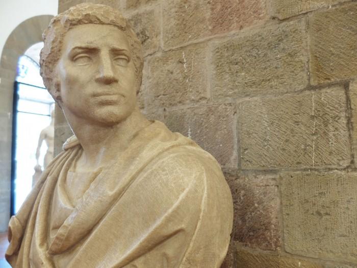 Begun by Michelangelo, Brutus